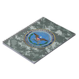 [100] U.S. Department of Defense (DOD) Emblem [3D] Notebook