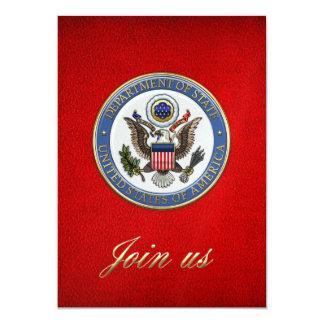 [100] U.S. Department of State (DoS) Emblem [3D] Card