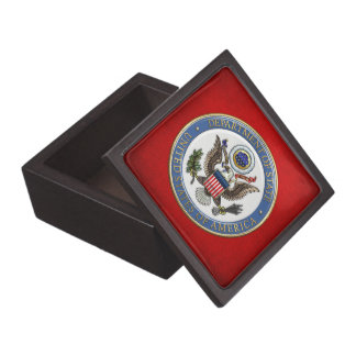 [100] U.S. Department of State (DoS) Emblem [3D] Gift Box