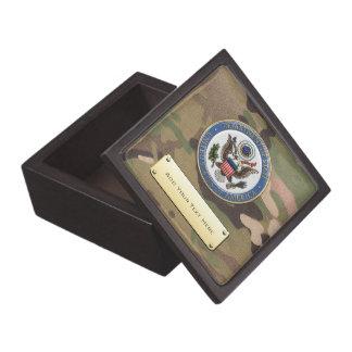 [100] U.S. Department of State (DoS) Emblem [3D] Jewelry Box
