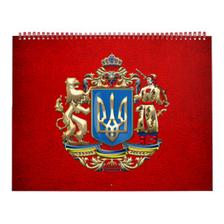 [100] Ucrania: Mayor escudo de armas propuesto Calendario De Pared