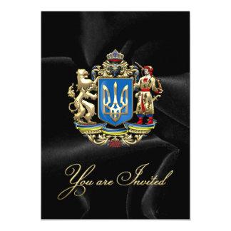 """[100] Ucrania: Mayor escudo de armas propuesto Invitación 5"""" X 7"""""""