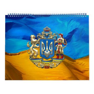 [100] Ukraine: Proposed Greater Coat of Arms Wall Calendars