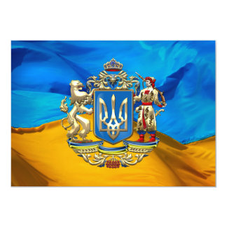 [100] Ukraine: Proposed Greater Coat of Arms Card