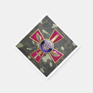 [100] Ukrainian Air Force Emblem Disposable Napkins