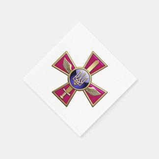 [100] Ukrainian Air Force Emblem Paper Napkins