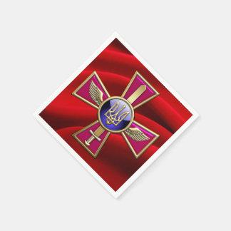 [100] Ukrainian Air Force Emblem Standard Cocktail Napkin