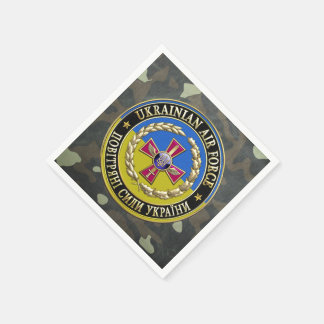 [100] Ukrainian Air Force [Special Edition] Paper Napkin