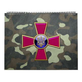 [100] Ukrainian Armed Forces Emblem Calendar
