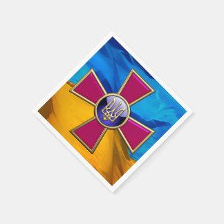 [100] Ukrainian Armed Forces Emblem Paper Napkins