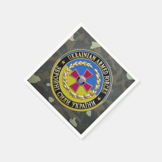 [100] Ukrainian Armed Forces [Special Edition] Disposable Napkin