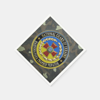[100] Ukrainian National Guard [Special Edition] Disposable Napkins