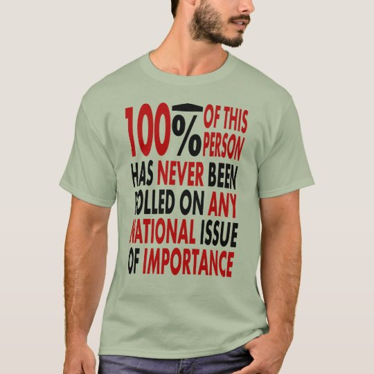 100% Unpolled T-Shirt