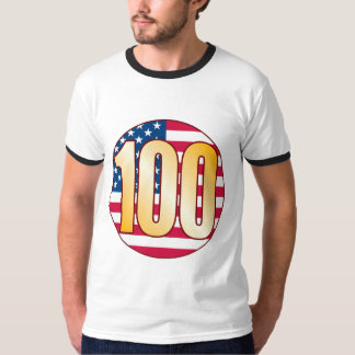 100 USA Gold T-Shirt