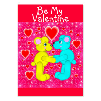100 Valentine's Day Cards Business Card Templates