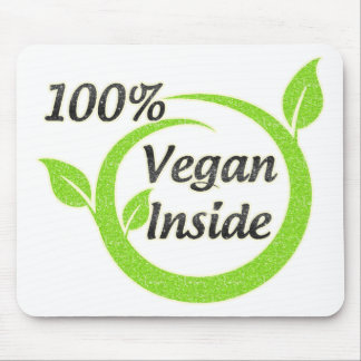100% Vegan Inside Mouse Pad
