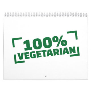 100% Vegetarian Calendar