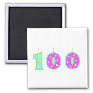 100 (velas) imanes de nevera