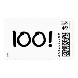 100 (velas) timbres postales