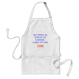 100 What It Looks Like Aprons