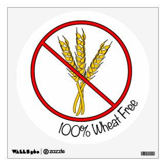 100% Wheat Free Wall Sticker