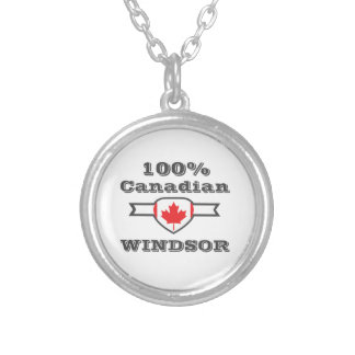 100% Windsor Silver Plated Necklace