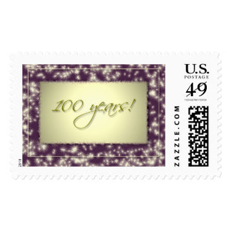 100 year birthday celebration stamps! stamps