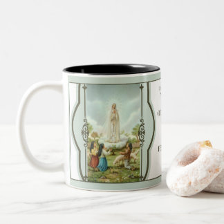100 YEAR FATIMA ANNIVERSARY 1917-2017 Two-Tone COFFEE MUG