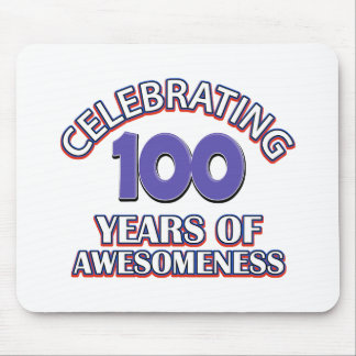100 year gift designs mouse pad
