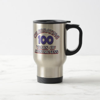 100 year gift designs travel mug