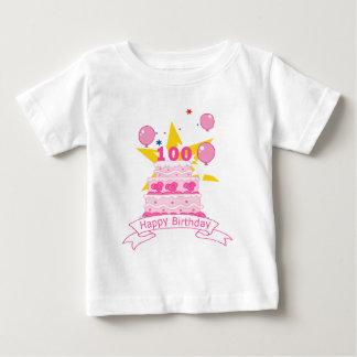 100 Year Old Birthday Cake Baby T-Shirt