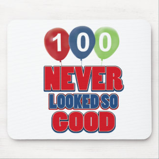 100 year old birthday designs mouse pad