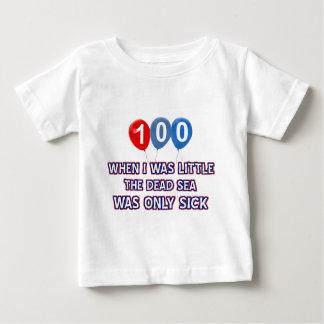100 year old dead sea birthday designs baby T-Shirt