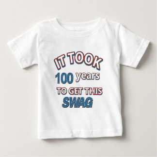 100 year old designs baby T-Shirt