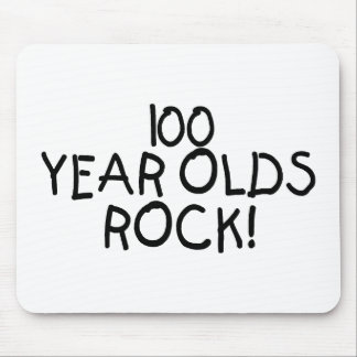 100 Year Olds Rock Mouse Pad