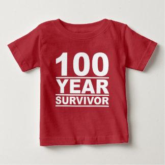100 year survivor baby T-Shirt