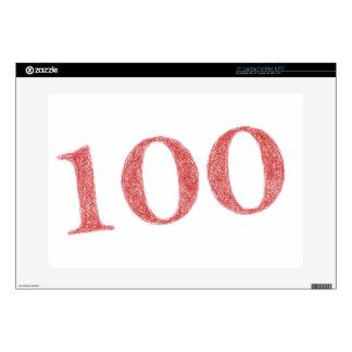 """100 years anniversary 15"""" laptop skin"""
