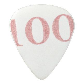 100 years anniversary acetal guitar pick