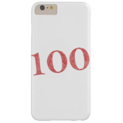 100 years anniversary barely there iPhone 6 plus case