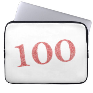 100 years anniversary computer sleeve