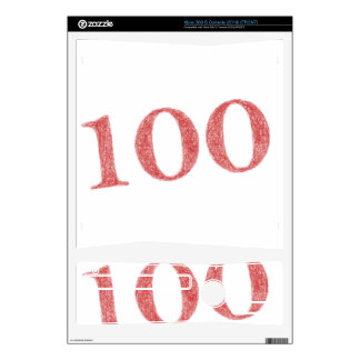100 years anniversary decals for xbox 360 s