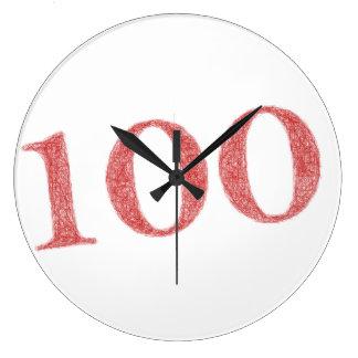 100 years anniversary large clock