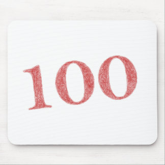 100 years anniversary mouse pad