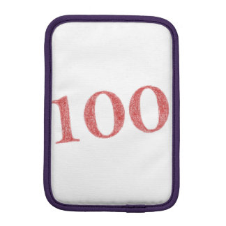 100 years anniversary sleeve for iPad mini