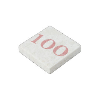 100 years anniversary stone magnet