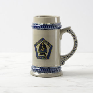 100 years beer stein