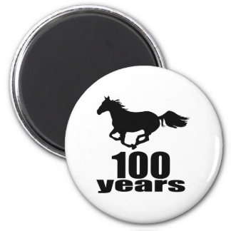 100 Years Birthday Designs Magnet