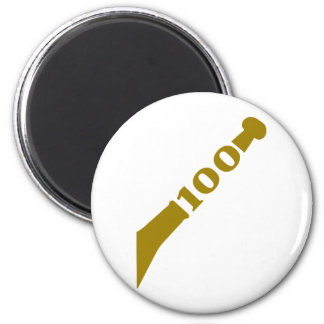 100-years-celebration-gold magnet