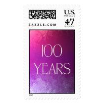 100 Years Celebration Stamp