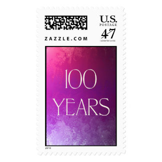 100 Years Celebration Stamp